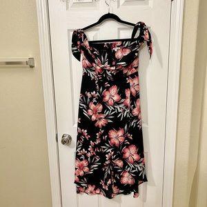 Charlotte Russe Floral Midi Dress